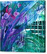 Bridge Park Canvas Print