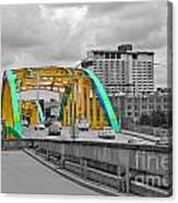 Bridge Pop Canvas Print
