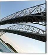 Bridge To Canada 02 Canvas Print