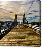 Bridge To No Where Canvas Print