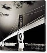 Bridge To Poughkeepsie 2 Canvas Print