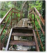 Bridge To Simiez Canvas Print