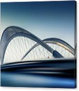 Bridge#1 Canvas Print
