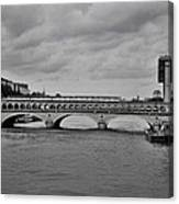 Bridges In Paris Canvas Print