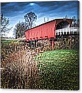 Bridges Of Madison County Canvas Print