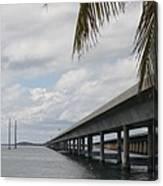Bridges Over The Sea Canvas Print