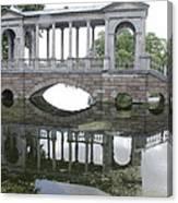 Bridge's Reflection Canvas Print