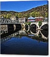 Bridges To Buckland Canvas Print