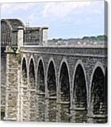 Bridging The Boyne Canvas Print