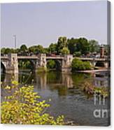 Bridgnorth Bridge Canvas Print