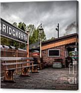 Bridgnorth Railway Station Canvas Print