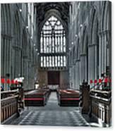 Bridlington Abbey Canvas Print