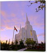 Brigham City Temple I Canvas Print