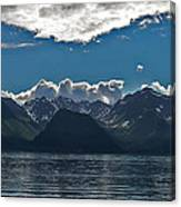 Bright And Cloudy Canvas Print