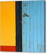 Bright Colors Of The Caribbean Canvas Print