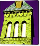 Bright Cross Tower Canvas Print