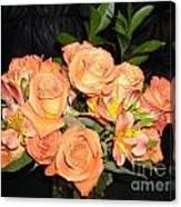 Bright Roses Canvas Print