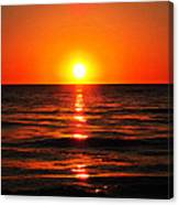 Bright Skies - Sunset Art By Sharon Cummings Canvas Print