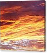 Bright Summer Sky Canvas Print