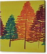 Bright Trees Canvas Print