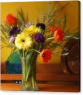 Bright Winter Bouquet Canvas Print