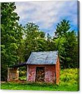 Bright Wood Shed Canvas Print