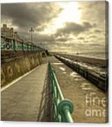 Brighton Promenade Canvas Print