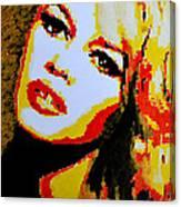 Brigitte Bardot Canvas Print
