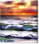 Brilliant Nags Head Sunrise Canvas Print