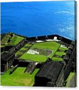 Brimstone Fortress St Kitts Canvas Print