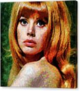 Brit Ekland - Abstract Expressionism Canvas Print