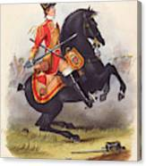Britain  A Member Of The Second Dragoon Canvas Print