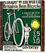 Britains Best Bicycle Canvas Print