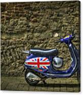 British At Heart Canvas Print