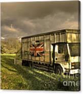 British Cargo Canvas Print