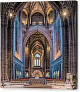 British Cathedral Canvas Print