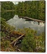 British Columbia Starvation Lake Canvas Print