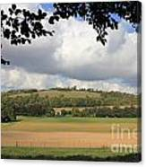 British Countryside Sussex Uk Canvas Print