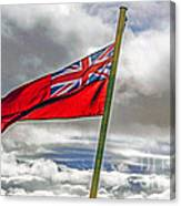 British Merchant Navy Flag Canvas Print