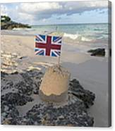 British Sandcastle Canvas Print