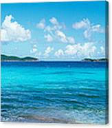 British Virgin Islands, St. John, Sir Canvas Print