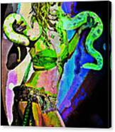 Britney Neon Dancer Canvas Print