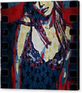 Britney Pop Art Canvas Print