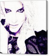 Britney Spears Canvas Print
