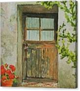 Brittany  Door Canvas Print