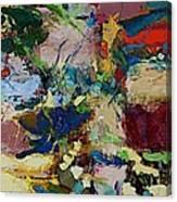Broad At Jackson Canvas Print