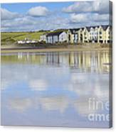 Broad Haven Clouds Canvas Print