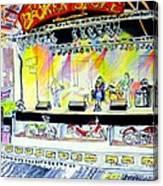 Broadband At The Broken Spoke Saloon Canvas Print