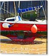 Broadstairs Harbour Canvas Print