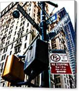 Broadway And Pine Canvas Print